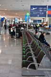 Roissy Frankrike - juli 6 2016: den Charles de Gaulle flygplatsen Royaltyfri Fotografi