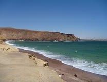 Roja Playa στη χερσόνησο paracas στο Περού Στοκ Φωτογραφία