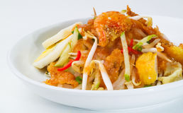 Rojak, Asian salad rojak on background Stock Image