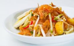 Rojak, азиатское rojak салата на предпосылке стоковое изображение