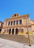 Rojas teater i Toledo Arkivbild