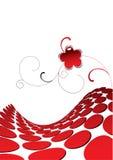 Rojo stock de ilustración