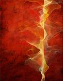 Rojo abstracto Fotografía de archivo libre de regalías