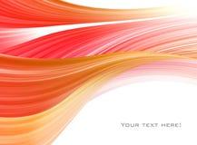 Rojo abstracto del fondo stock de ilustración
