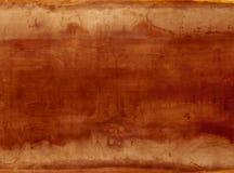 Rojo anaranjado de la placa de acero del fondo Imagen de archivo