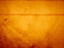 Rojo anaranjado del yello de la mancha de óxido de la tela del fondo Foto de archivo libre de regalías