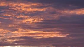 Rojo anaranjado Grey Clouds fotos de archivo