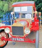 Rojo clásico 1914 Ford fotografía de archivo