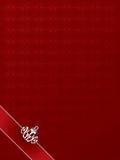 Rojo con clase del fondo Fotos de archivo