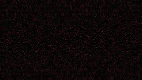 Rojo cuadrado abstracto del fondo del código stock de ilustración