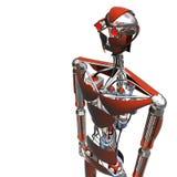 Rojo de Cybog stock de ilustración