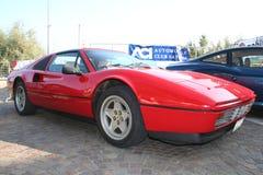 Rojo de Ferrari Imágenes de archivo libres de regalías