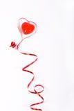 Rojo de la cinta Fotografía de archivo
