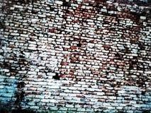 Rojo de la pared Fotografía de archivo