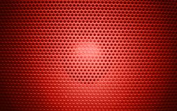 Rojo de la textura de la parrilla del Presidente foto de archivo