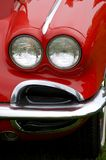 Rojo de la vendimia Foto de archivo libre de regalías