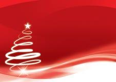 Rojo de Navidad stock de ilustración