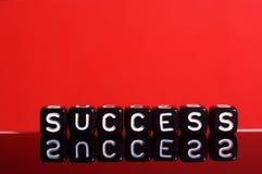 Rojo del éxito Imagen de archivo libre de regalías