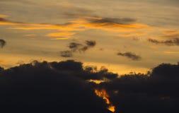 Rojo del cielo Foto de archivo libre de regalías