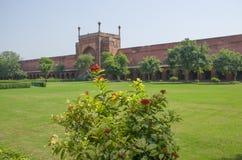 Rojo del fuerte a la ciudad de Agra de la India Fotos de archivo