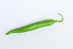 Rojo del verde amarillo de la pimienta dulce en blanco Fotografía de archivo libre de regalías