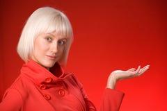 Rojo en rojo Foto de archivo libre de regalías