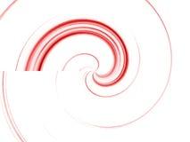 Rojo espiral Imagen de archivo libre de regalías