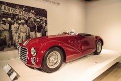 Rojo Ferrari 1947 125 S Foto de archivo libre de regalías
