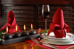 Rojo festivo Fotos de archivo libres de regalías