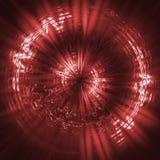 Rojo futurista del fondo ilustración del vector