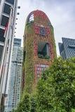 Rojo Hoteltower de los jardines de ejecución imagenes de archivo