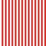 Rojo inconsútil del modelo de la raya Fotos de archivo libres de regalías