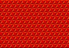 Rojo inconsútil del modelo de la textura abstracta del triángulo Foto de archivo libre de regalías