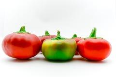rojo pequeñas pimientas dulces italianas amarillas Fotos de archivo libres de regalías