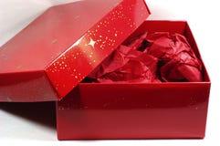 Rojo presente Fotografía de archivo libre de regalías