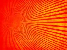 Rojo retro de la textura del grunge con la naranja imagen de archivo