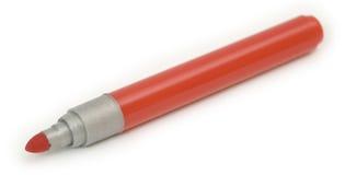 Rojo suave-incline la pluma Foto de archivo libre de regalías