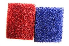 Rojo y azul Imagen de archivo libre de regalías