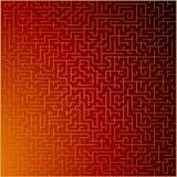 Rojo y fondo del extracto del vector del oro Ilustración del Vector