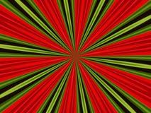 Rojo y verde Fotos de archivo libres de regalías