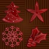 Rojos del día de fiesta Imagen de archivo