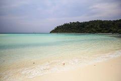 Rok ö, Koh Rok, Trang landskap Thailand Fotografering för Bildbyråer