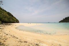 Rok ö, Koh Rok, Trang landskap Thailand Royaltyfria Foton