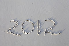 Rok 2012 Obrazy Royalty Free