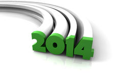 Rok 2014 Zdjęcia Royalty Free