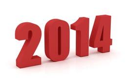 Rok 2014 Zdjęcie Royalty Free