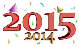 Rok 2015 Zdjęcia Royalty Free