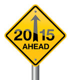 Rok 2015 Zdjęcie Royalty Free