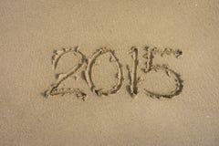 Rok 2015 Obrazy Stock