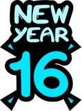 2016 rok Obraz Stock